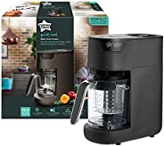 Tommee Tippee Quick Cook Baby Food Maker Blender and Steamer- Black