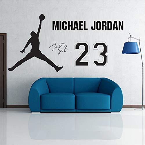 Wandtattoo Wohnzimmer Wandtattoo Schlafzimmer Nouvelle affiche de décalque Jumpman Jumpman Air Jordan Aj Hot New 2015 -