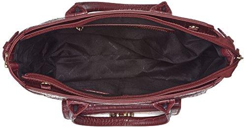 Bulaggi - Saura Handbag, cartella Donna Rosso (Wein Rot)