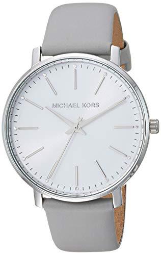 MICHAEL KORS Damen Analog Quarz Uhr mit Leder Armband MK2797