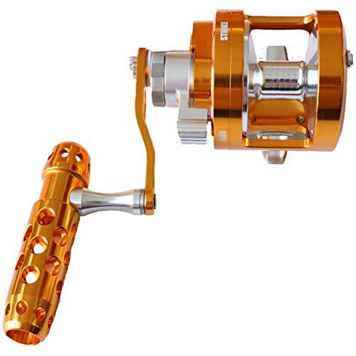 Tree-on-Life Syd90 Eisen Rad Vollmetall Trommel Typ Trolling Rad Seefischerrad Single/Double Speed   Sea Angelrolle Werkzeuge