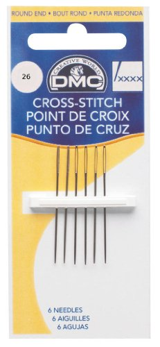 Size 26 Cross Stitch Needles6 by DMC