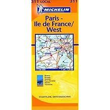 Carte routière : Eure-et-Loir - Paris - Yvelines, N° 11311