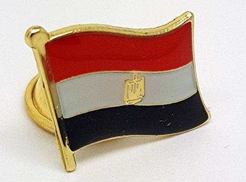 National Land Flagge Ägypten Emaille Brosche   Hohe Qualität Metall Emaille Pin Badge Revers Brosche Neuheit zum Sammeln Geschenk Schmuck für Kleidung Shirt Jacken Mäntel Krawatte Hüte Kappen Taschen Rucksäcke