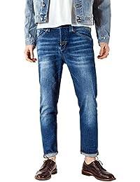 Meltin'Pot - Jeans LEGHEND D2024-UK383 para hombre, estilo recto, ajuste suelto, talle baja