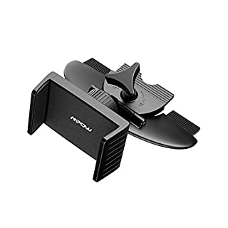 Mpow Car Phone Holder,CD Slot Universal Car Phone Mount, One-touch Cradle Stand for iPhone 7/7plus/6s/6/6s plus/6 plus, Samsung S8/S7/S6/edge, LG G5, Nexus 5X/6/6P and More