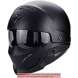 Scorpion Casco Moto EXO-COMBAT, Matt Black, S
