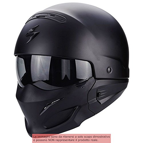 Scorpion Helm Motorrad exo-combat, matt black, L