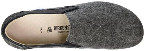 Birkenstock Jenks, Mocassins Homme Gris (Black)