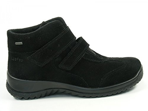 Legero - Softboot, Zapatilla De Cuello Alto Para Mujer Negro (negro)