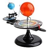 AHATECH Modello Planetario per Sistemi Solari Progetto Educativo Sistema Solare Orbitale di Luna E Terra Kit Didattico per Bambini