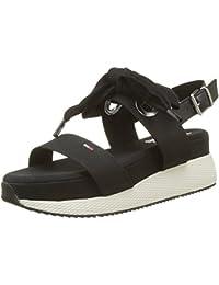 Hilfiger Denim Damen Modern Hybrid Sandal Bow Slingback