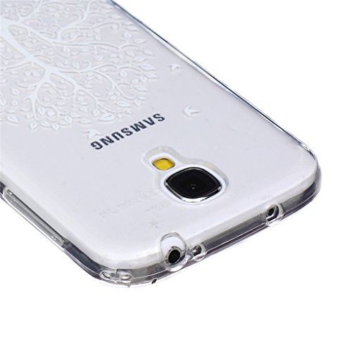 LOOKAY Samsung Galaxy S5 Coque Housse Silicone Etui Case Cover Transparent Crystal Clair Soft Gel TPU (B11) 05HUA
