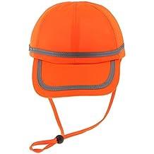 FLAMEER Trabajador Soldador Sombrero Cascos Sombrero De Béisbol Gorro De  Tela Protección De La Cabeza - 80fae43f5ab