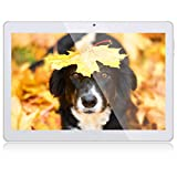 Tablet 10 Zoll, Android Tablet Qimaoo Tablett Android 8.1 Tablet PC mit 2 GB RAM 32 GB ROM IPS HD (1280 x 800), Dual Kamera 2MP+5MP Tablets Quad Core CPU, WiFi/GPS/Bluetooth/Dual SIM 3G Tablet
