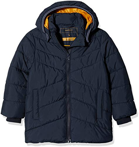 NAME IT Baby-Jungen NMMMIL Puffer Jacket Camp Jacke, Blau Sky Captain, 92