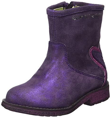 ca68b419f7ea9 Agatha Ruiz de la Prada 181970, Bottes   Bottines Souples Fille, Violet  (181970