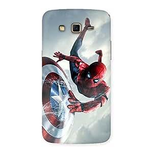 Impressive web sheild Multicolor Back Case Cover for Samsung Galaxy Grand 2