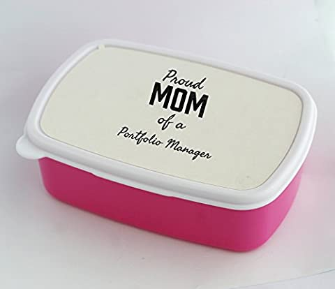Lunch box with Proud Mom of a Portfolio Manager