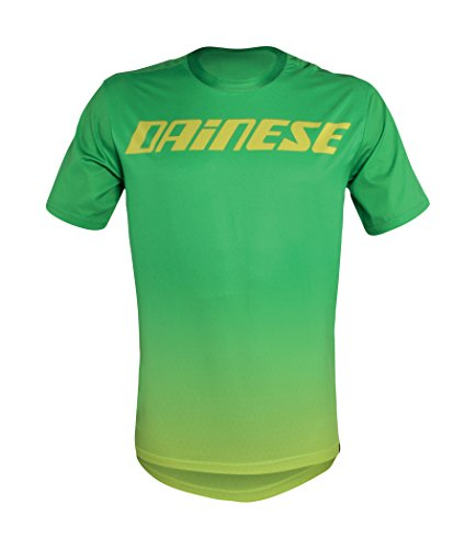 Dainese Herren T-shirt Driftec green/yellow