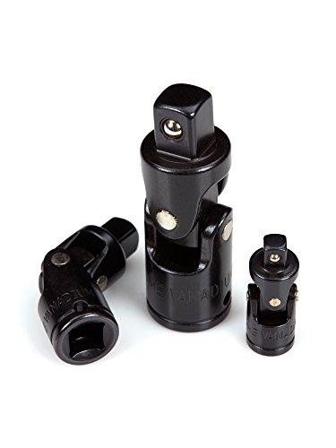 TEKTON 4964 Universal-Gelenkadapter-Satz für Steckschlüssel, 3-teilig - 3