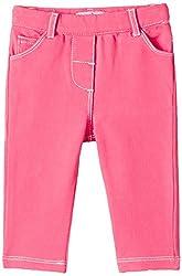 Nauti Nati Baby Girls Jeans (NAW15-1756-12M_Pink_6-9 months)