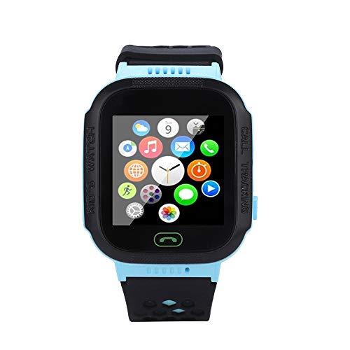 Preisvergleich Produktbild TianranRT Q528 Smart Watch mit GPS GSM Locator, Bildschirm Tracker SOS für Kinder Kinder (Blau)