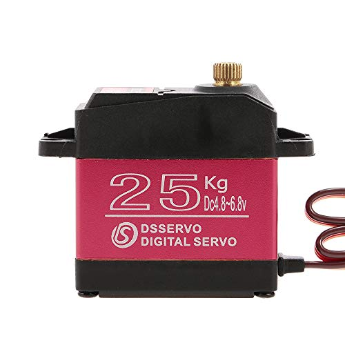 Goolsky DSSERVO DS3225 Digital Servo 25KG Metal Gear High Torque Impermeable para...