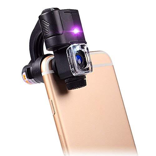 Fangfang GAO magnifier Lupe Telefon Mikroskop LED Licht 90X Identifikation Schmuck Jade Antike Stempel Werkzeug Überprüfen Sie Geld -