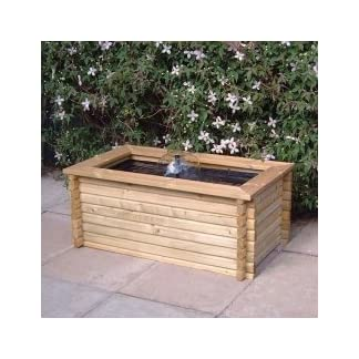RECTANGULAR RAISED GARDEN POOL 60 GALLON + LINER + PUMP FISH POND TANK EASY DIY RECTANGULAR RAISED GARDEN POOL 60 GALLON + LINER + PUMP FISH POND TANK EASY DIY 4138WkAodfL