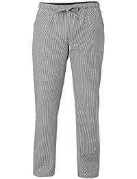RISTOHOUSE Pantalone da Cuoco Pied de Poule Sale e Pepe Modello Slim - 100%  Cotone 8aeb4f57278a