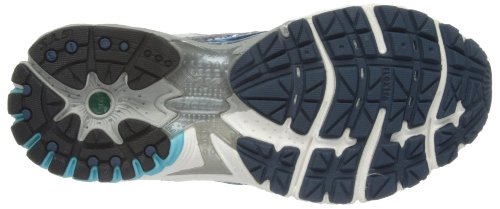 Brooks Adrenaline Gts 13 Wide W, Chaussures de Running Entrainement Femme Bleu (dark Denim/white/bachelor Button/silver/black)