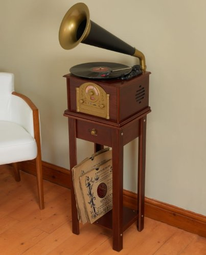 gramophone-style-voice-nostalgia-retro-music-system-with-turntable-record-player-radio-cd-player-mp3