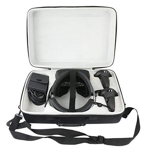 Khanka Duro Viaje Estuche Bolso Funda para Oculus Rift S PC-Powered VR Gaming Headset (Pequeña)