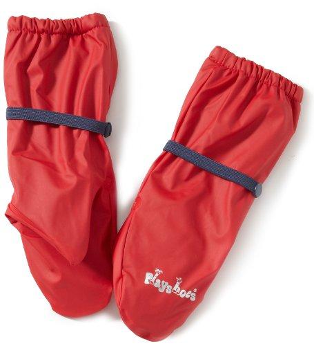 Playshoes Jungen Handschuh Fleece-Futter, (Rot)), ()