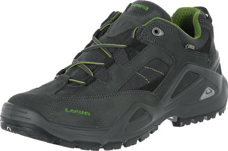 LOWA Herren Outdoorschuh Grau/Grün