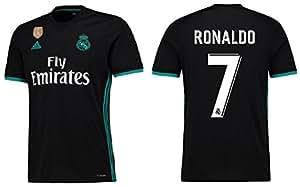 Trikot Herren Adidas Real Madrid 2017-2018 Away WC Badge - Ronaldo 7 (S)