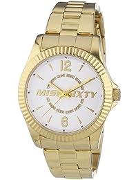 Miss Sixty Damen-Armbanduhr Analog Quarz Edelstahl R0753126503