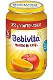 Bebivita Früchte Mango in Apfel, 6er Pack (6 x 250 g)