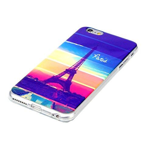 Phone case & Hülle Für iPhone 6 Plus / 6s Plus, IMD Bunte Blumen Muster Blu-ray Soft TPU Schutzhülle ( SKU : IP6P5000A ) IP6P5000D
