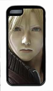 Final Fantasy Cloud Strife Fond Coque pour iPhone 5C Housse de transport Noir, Final Fantasy Cloud Strife iPhone 5C Coque par Popcustom