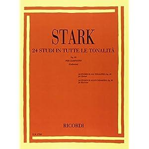 24 Studi in tutte le tonalità Op. 49 Per Clarinetto