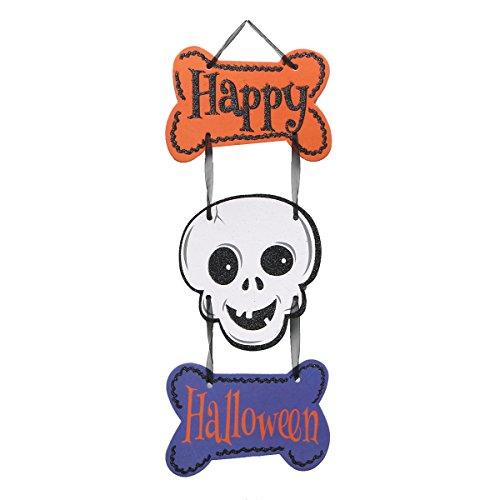 een Türhänger Schädel Dekor Halloween Party Supplies Dekorationen ()