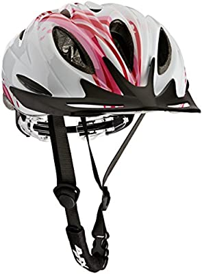 Apex Women's L330 Helmet - White/Pink, 54