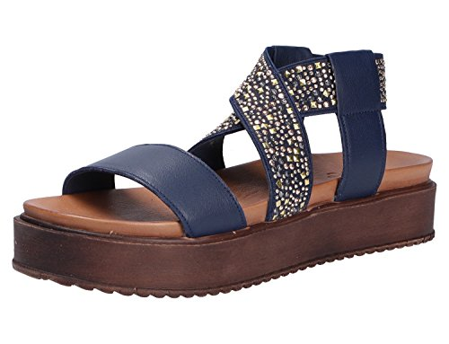 Inuovo Damen Sandale Blau
