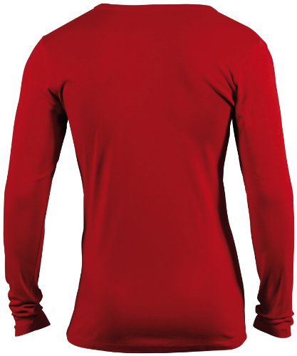 James & Nicholson Herren Langarmshirt Shirt Longsleeve Red