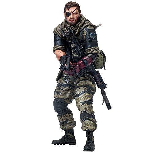 Union Creative Menshdge Statue Technique N ° 16 : Metal Gear Solid V : The Phantom Pain : Venom Serpent en PVC Statue