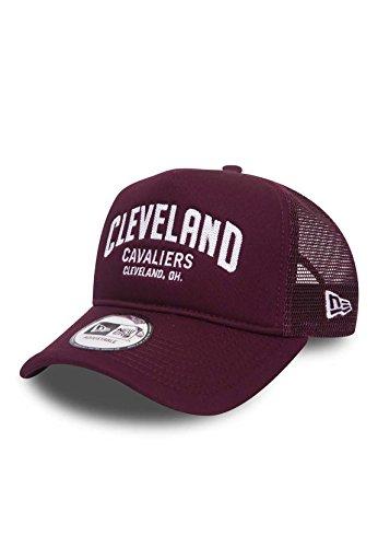5acecf0ea0730 New Era NBA Chain Stitch A-Frame Trucker Cap (Cleveland Cavaliers)