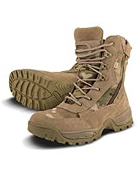 Mens Combat Military Army Camo Patrol Hiking Cadet Work Multicam Recon Special Forces Boot 4-12