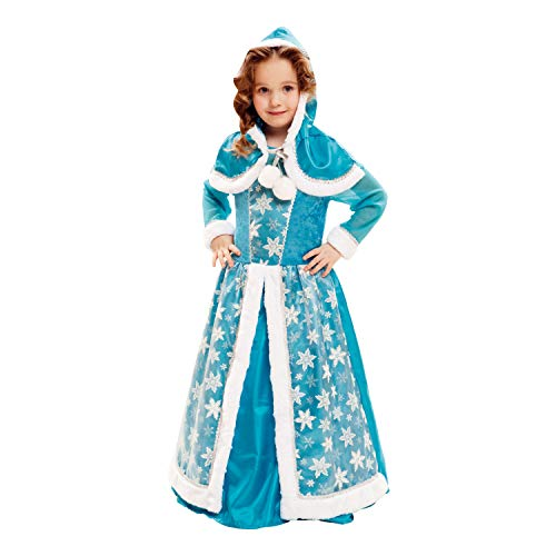 Eis Königin Kostüm - My Other Me Kostüm, Eis-Königin, für Kinder, Blau (Viving Costumes) 5-6 años blau